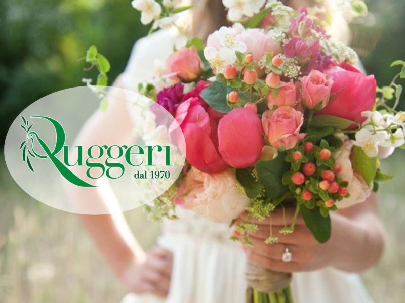Fioricoltura Ruggeri - offerta originali composizioni floreali per cerimonia personalizzate