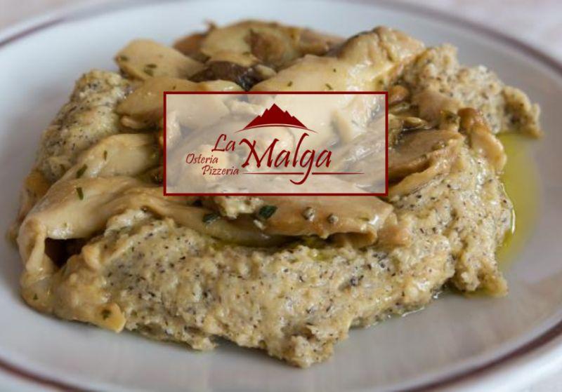 LA MALGA offerta polenta taragna-promozione polenta tipica bergamasca