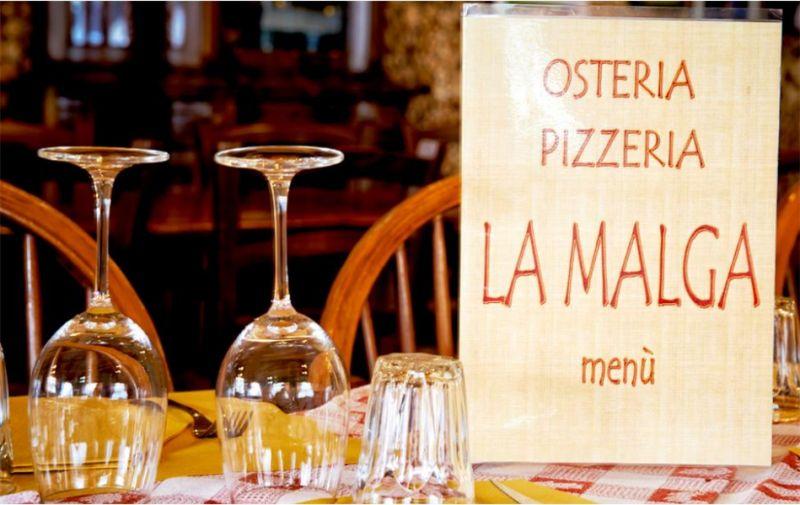 LA MALGA offerta cena grandi gruppi – promozione menu gruppo cucina tradizionale