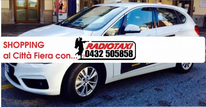 offerta radio taxi città fiera UD - promozione radio taxi udine
