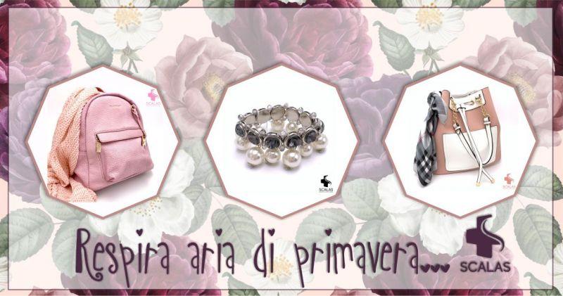 Farmacia Scalas Serramanna - offerta borse accessori moda primavera estate 2019