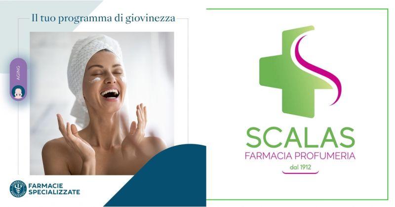 Farmacia Scalas Serramanna - offerta evento AGING programma giovinezza