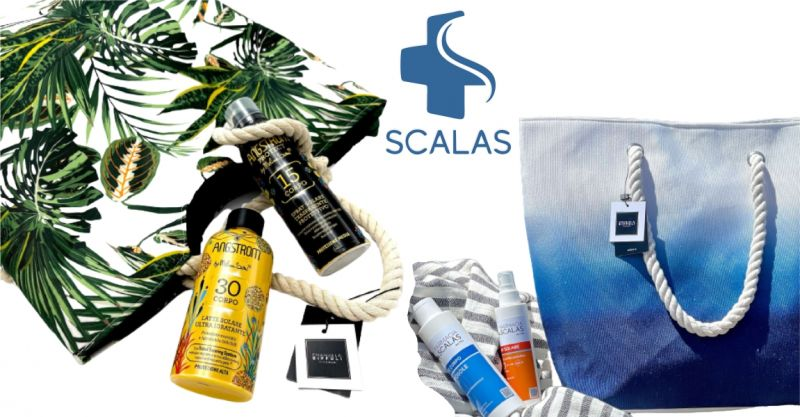 Farmacia Scalas Serramanna - offerta solari regalo borsa mare