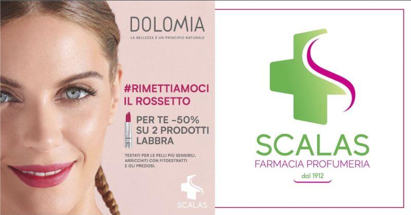 Farmacia Scalas Serramanna - offerta prodotti labbra Dolomia Beauty