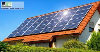 offerta installazione pannelli solari occasione riscaldamento ad impianto fotovoltaico
