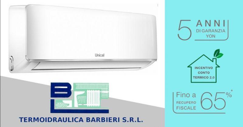 Offerta vendita installazione monosplit Unical - occasione i migliori condizionatori Piacenza