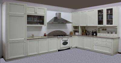 occasione cucina angolare artigianale padova offerta realizzazione cucina su misura