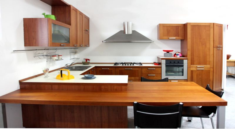 Promozione cucina U812 CRONO 7 ciliegio Padova