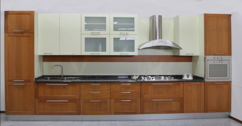 Offerta cucina lineare Crono 7 U804 Padova - Occasione vendita cucine lineari artigianali Padova