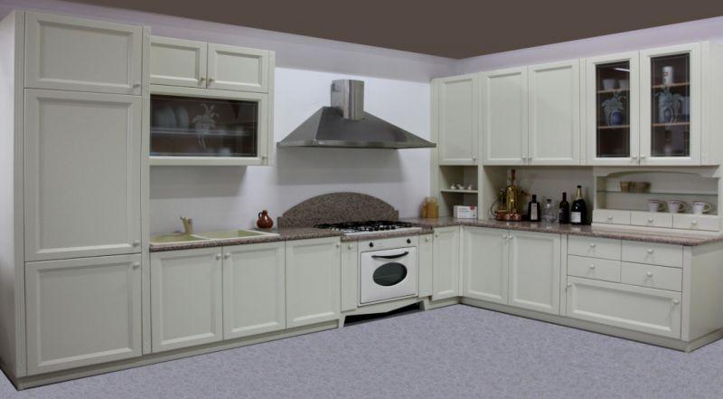OFFERTA cucina Greca laccata avorio U806 PADOVA