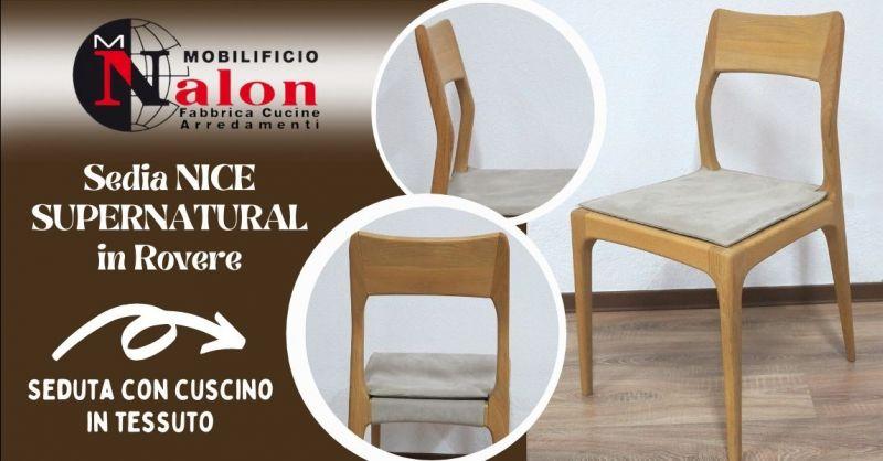 Offerta vendita sedie artigianali in Rovere Padova - Occasione produzione sedie in legno moderne Padova