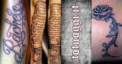 tattoo fantasy offerta studio tatuaggi lettering scritte civitanova marche macerata