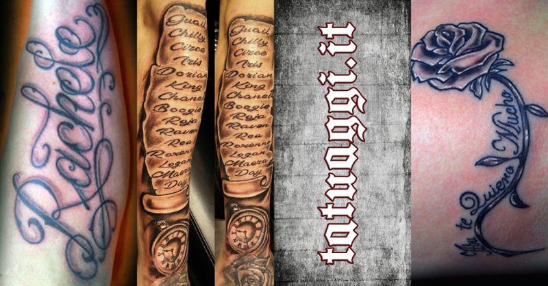 TATTOO FANTASY - offerta studio tatuaggi lettering scritte civitanova marche macerata