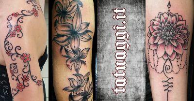 tattoo fantasy offerta idee tatuaggi floreali civitanova marche macerata