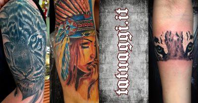 tattoo fantasy offerta tatuaggio stile ralistico civitanova marche macerata