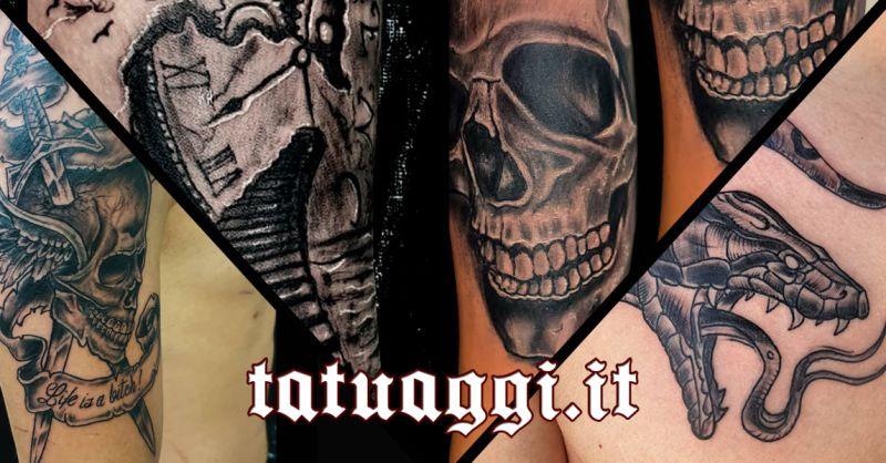 Offerta Tatuaggi Horror Civitanova Marche - Occasione Tattoo Horror Civitanova Marche