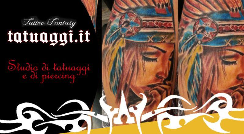 Offerta tatuaggio tribale personalizzato civitanova marche - promozione studio tattoo professionale civitanova marche