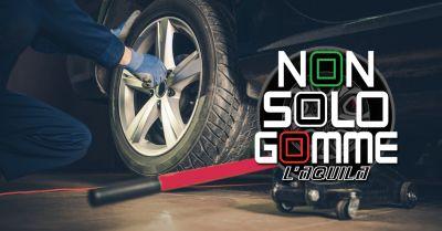 offerta riparazione pneumatici laquila occasione assistenza gomme auto laquila
