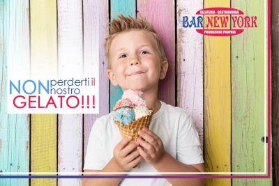 offerta gelato artigianale promozione coppa gelato frullati bar new york terni