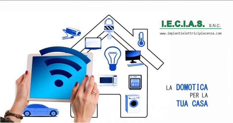 offerta sistema casa domotica Piacenza - occasione impianto elettrico domotico