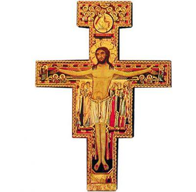 offerta francescana in legno cm 8