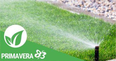 promozione progettazione impianti di irrigazione primavera 83 elmas