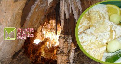 promozione cucina sarda offerta pranzo tipico sardo grotte is zuddas santadi