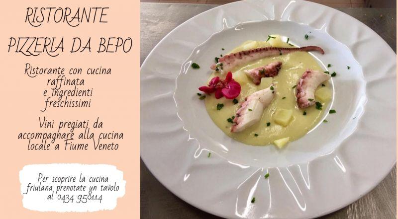 Occasione ristorante specilità di pesce Pordenone  - Offerta cucina a base di pesce Pordenone