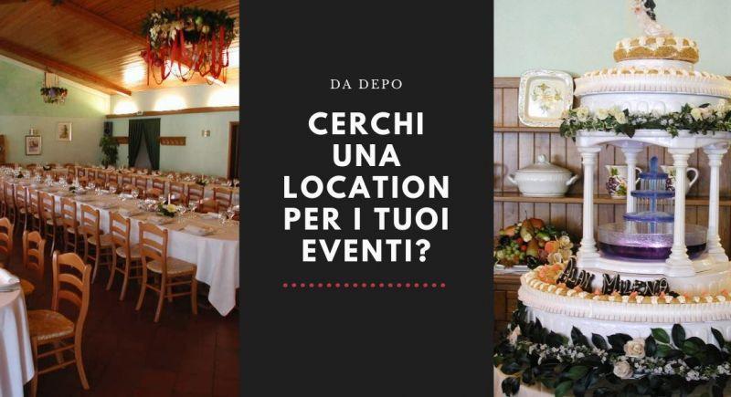 occasione location per eventi Pordenone – offerta ristorante per battesimi laurea matrimoni Pordenone