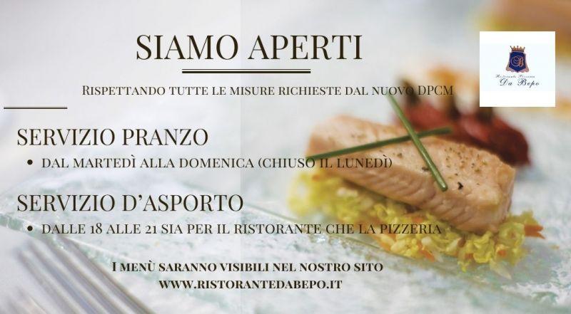 Occasione ristorante e pizzeria a Pordenone aperta in pausa pranzo a Pordenone – Offerta ristorante e pizzeria con servizio d'asporto a Pordenone
