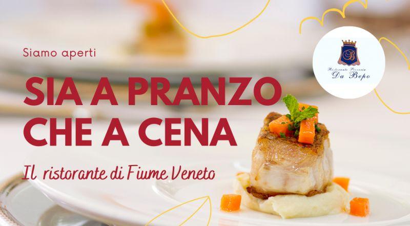 Occasione ristorante a Pordenone con ampio spazio all'esterno a Pordenone – offerta ristorante di pesce e pizzeria con ampio giardino a Pordenone