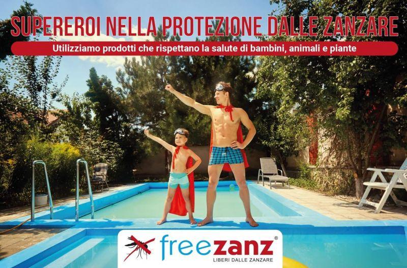 Promozione disinfestazione zanzare rende - promozione linea freezanz rende