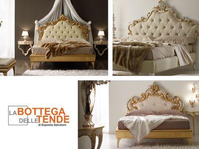 offerta letto matrimoniale classico promozione letto oro argento la bottega delle tende