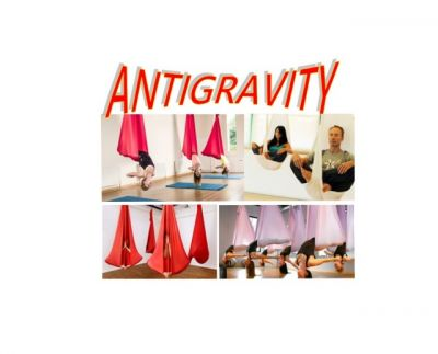 antigravity yoga al centro nuoto copparo