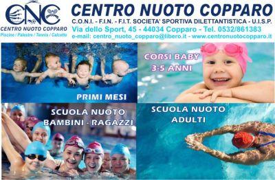 scegli il corso di nuoto che fa per te vieni al centro nuoto copparo