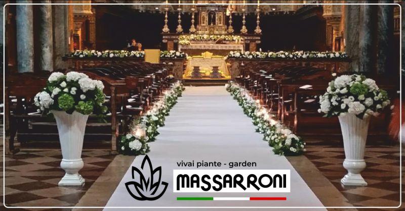 vivai massarroni offerta addobbi floreali matrimoni - occasione bouquet sposa perugia