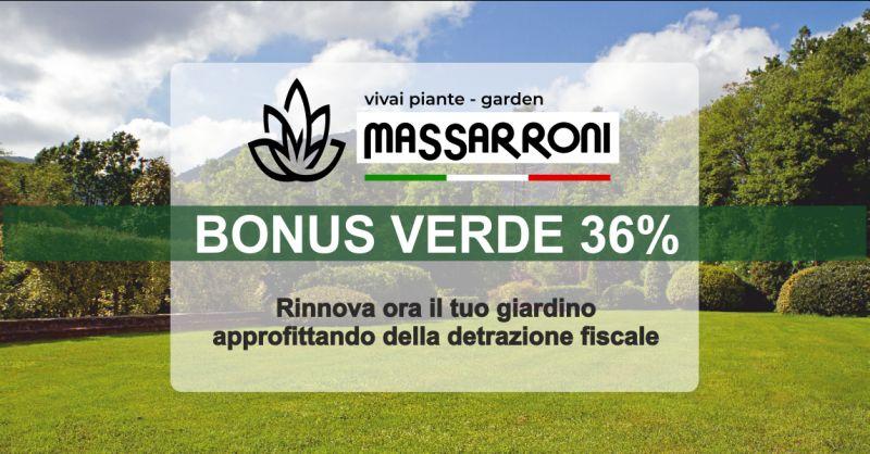 vivai massarroni offerta bonus verde giardini perugia - occasione detrazione fiscale giardini perugia