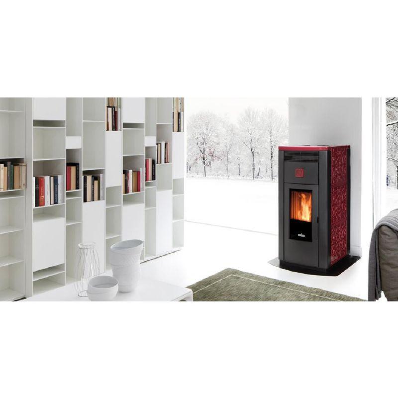 termostufa a pellet ventilata ravelli hrv 160 hydro special price aquino infissi promo
