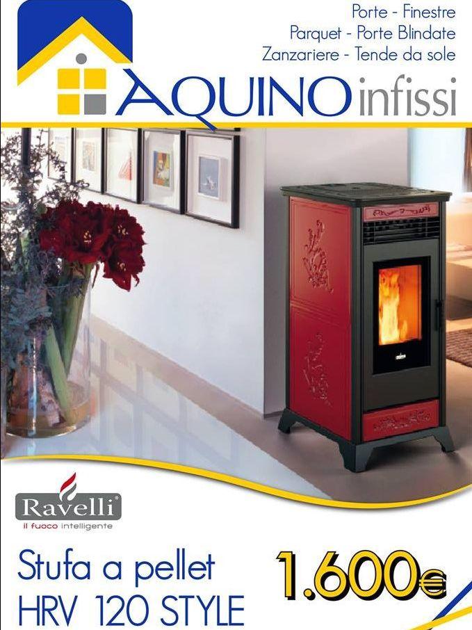 offerta termostufa hydro ventilata ravelli - promozione aquino infissi