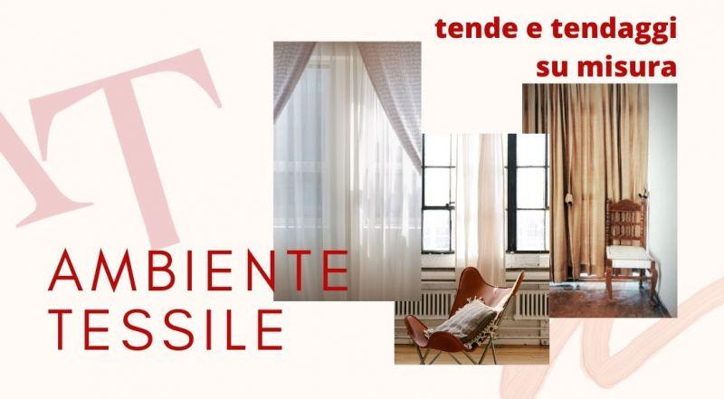 Vendita produzione tende su misura a Pordenone - Occasione realizzazione tendaggi per la casa a Pordenone