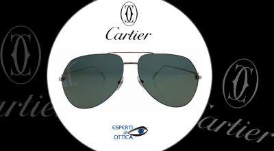 esperti in ottica offerta vendita online occhiali da sole cartier modello ct 01105