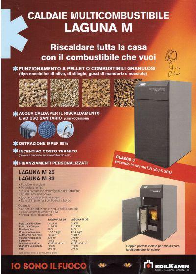 caldaia policombustibile pellet o combustibili granulosi