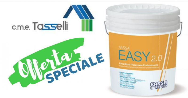 C.M.E TASSELLI - offerta Vendita Idropittura Traspirante Professionale - Vallecrosia