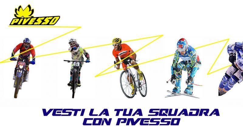 Offerta vendita abbigliamento sportivo personalizzato Treviso - Pivesso Abbigliamento
