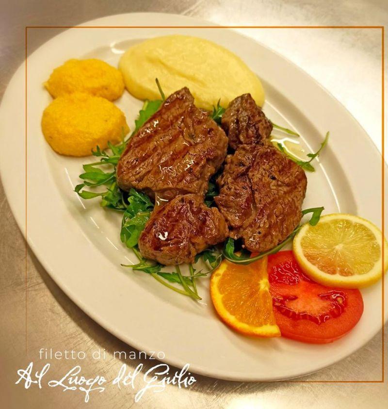 Offerta carne allla brace a Pordenone - Occasione filetto di manzo Griglia Luogo del Giulio Maniago a Pordenone