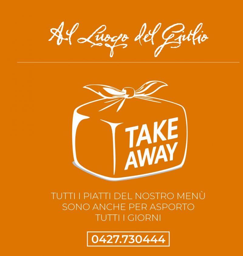 Occasione pranzo e cena da asporto Al Luogo del Giulio Maniago a Pordenone