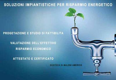 soluzioni impiantistiche per risparmio energetico