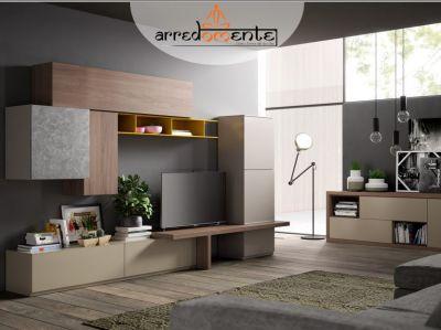 offerta parete soggiorno componibile offerta mobili industrial arredomente