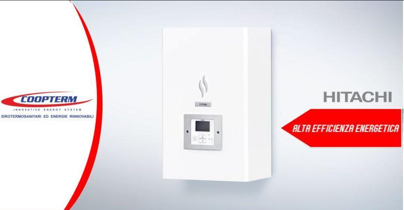COOPTERM - offerta pompa di calore Hitachi Yutaki elevata efficienza energetica
