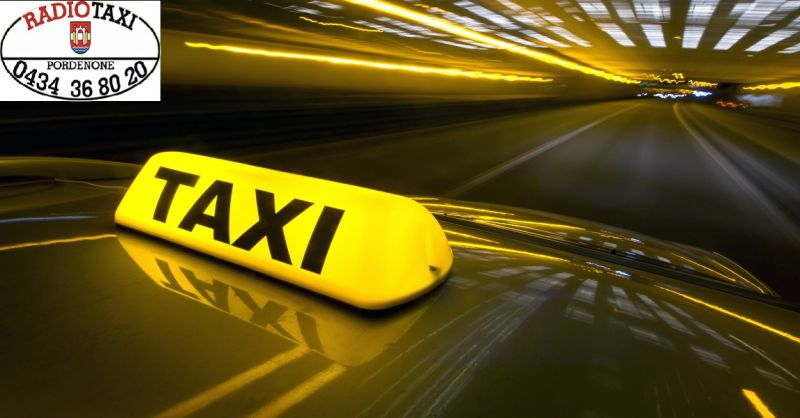 Consorzio Tassisti occasione trasporto notturno - offerta servizio pubblico Pordenone